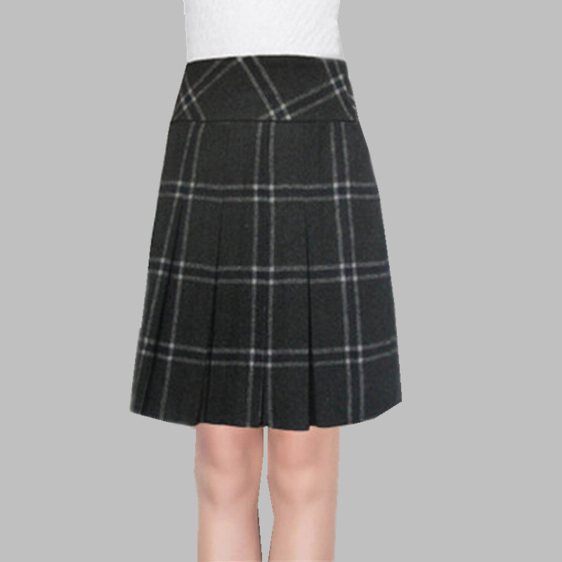 Cool Sofia Black Aline Skirt  REISS