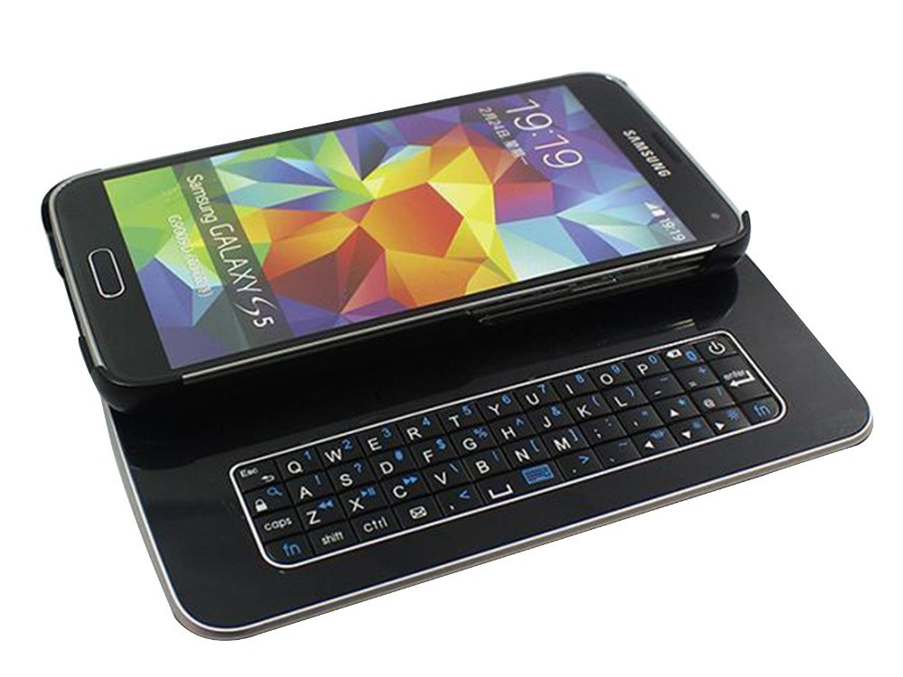 Magnet Slide Thin QWERTY KEYPAD Bluetooth 3.0 Keyboard ...