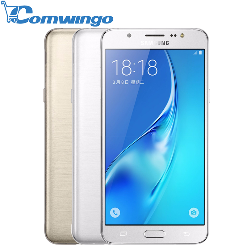 "Original Samsung Galaxy J5 (2016) Phone 2GB 16GB ROM 5.2"" inch Screen Quad Core Snapdragon Dual Sim FDD LTE Smartphone(China (Mainland))"