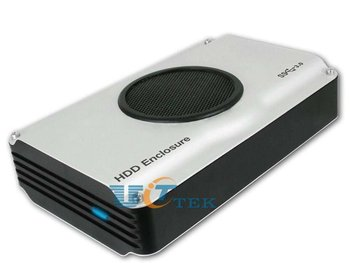 """External USB 3.0 to 3.5"""" 3.5-inch SATA HDD Hard Disk Drive Enclosure Case 5Gbps w/Cooling Fan & LED Indicator Singapore Post"""