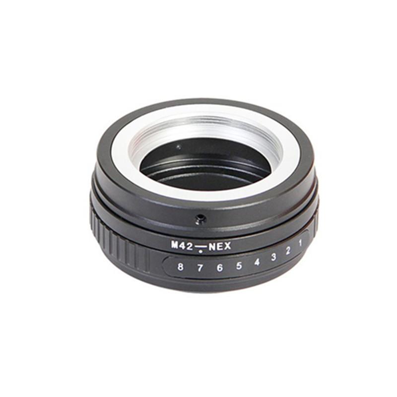 M42-NEX Tilt Adapter Lens adapter for M42 Screw Mount Lens To S NEX E NEX7 NEX-5N NEX5C camera camcorder<br><br>Aliexpress