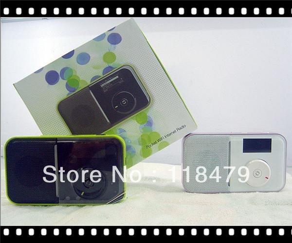 store product Freeshipping MINI Pocket WiFI Internet Radio DAB Digital FM RDS Wireless