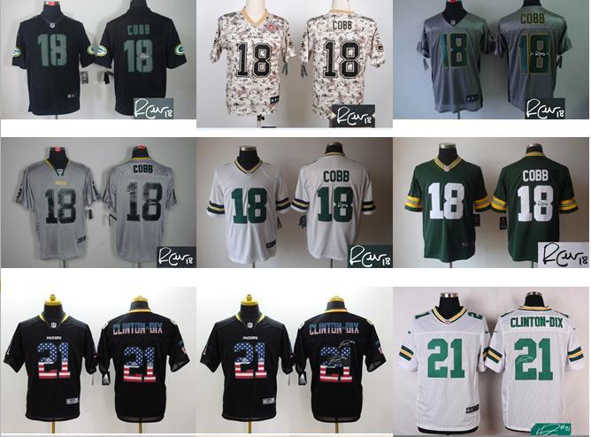 Green Bay Packers Ha Ha Clinton-Dix ELITE Jerseys