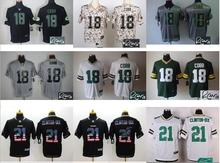 NO-10 2016 high quality,Green Bay Packers,Randall Cobb, Clinton-Dix, Randall Eddie Lacy(China (Mainland))