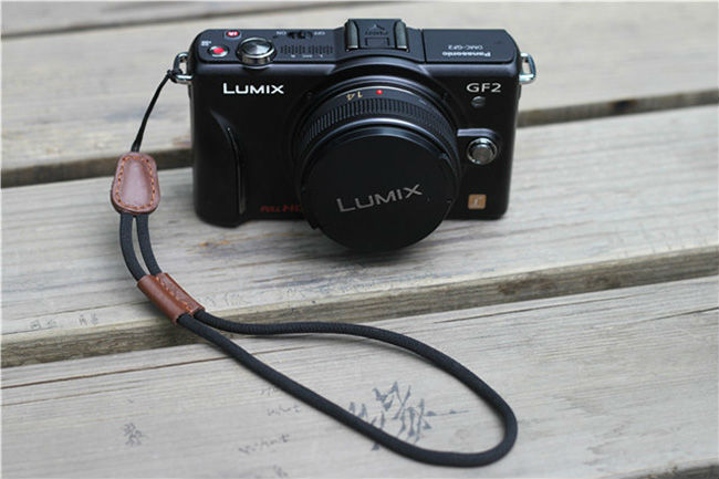 Free shipping Universal Luxury Leather Wristband camera wrist strap Bundle For DSLR Camera<br><br>Aliexpress