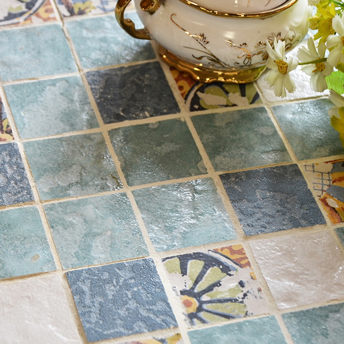 Antique ceramic tiles