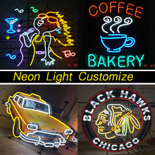 Neon Light Customization Neon Advertising Lamp Board Customization Custom Made(China (Mainland))