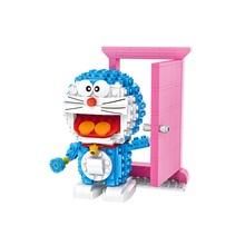 Buy LOZ Mini Building Blocks Doraemon Portals 3D Nano Blocks Bricks Toys DIY Figure Model Children Educational Toys Christmas Gifts for $10.99 in AliExpress store
