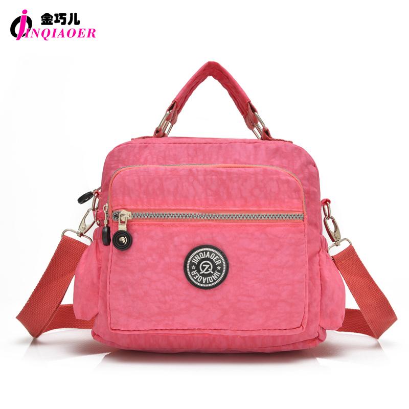 JINQIAOER bolsa feminina Women Waterproof Nylon Handbag Tote Bags Travel Design Large Shoulder Messenger Bag Brand Crossbody Bag(China (Mainland))