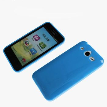 Soft TPU Back Case For Huawei C8860E U8860 Cell Phone Jelly Cover 6 color free shipping