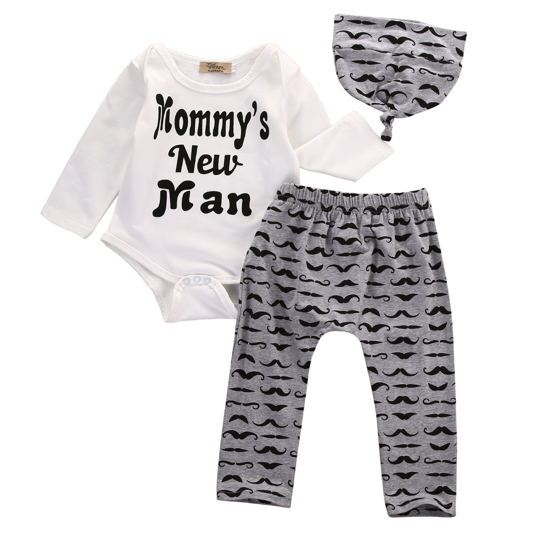 Aliexpress.com : Buy 0 18M Newborn Baby Boy Clothes Mommy ...