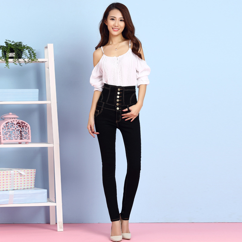 Popular Retro High Waisted Jeans-Buy Cheap Retro High Waisted ...