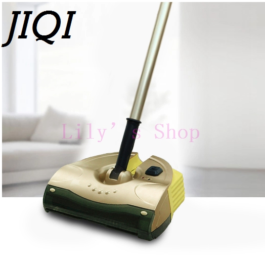 New High quality Hand push home wireless electric sweeper Vacuum Cleaner mopping robot vacuum cleaner sweeping mop charge gift(China (Mainland))