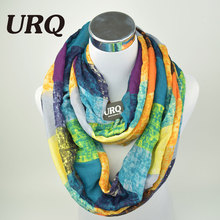 2016 New Tube Scarves Warm For Women Fashion Designer Plaid lady Ring Scarfs Infinity Scarf Tube scarf V8A18430(China (Mainland))