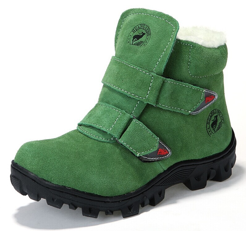 fashion boys girls children leather shoes keep warm winter boots - Elegant girl NO 1 store