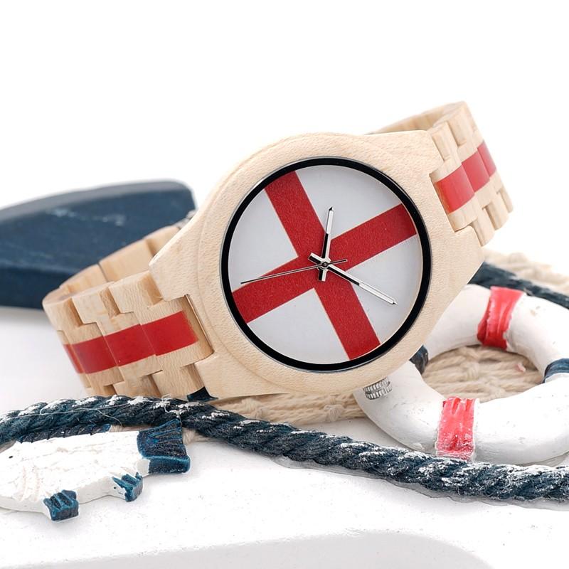 BOBOBIRD 100% Натуральный Все Клена Часы Бренда Дизайнер С Японской 2035 Движение Для Подарка