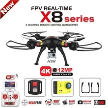 SYMA X8C X8G X8W X8HG X8 FPV RC Drone With H9R 4K Camera 1080p Ultra HD WiFi 2.4G 4CH RC Quadcopter Helicopter Professional Dron(China (Mainland))