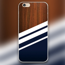 Wooden Navy Design transparent case cover cell mobile phone cases for Apple iphone 4 4s 5 5c 5s 6 6s 6plus hard shell