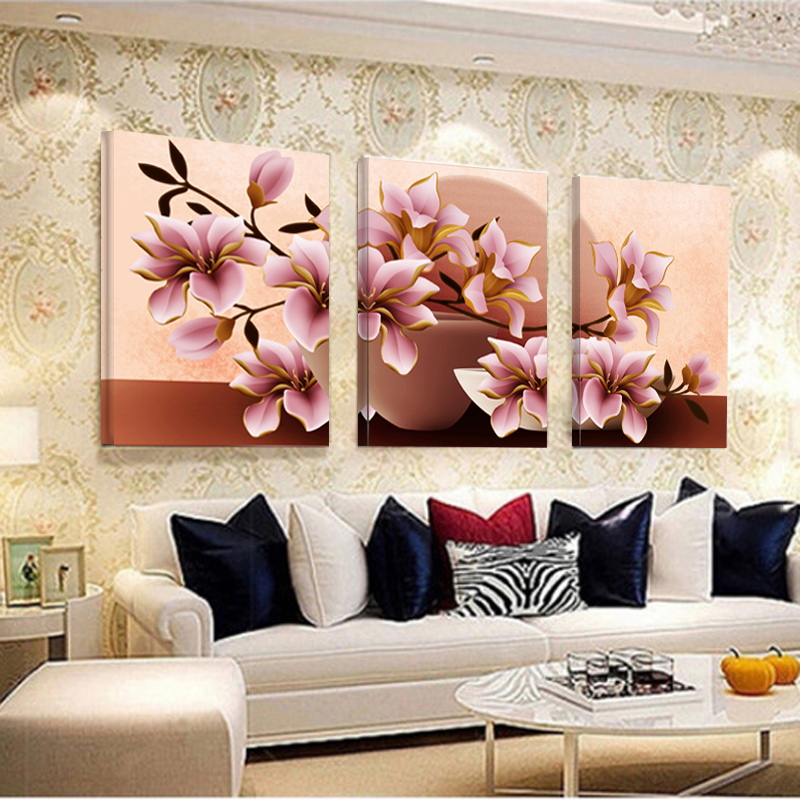 Charmant No Frame Orchid Wall Painting Flower Canvas Painting Home Decoration  Pictures Wall Pictures For Living Room Modular Pictures   Free Shipping  Worldwide