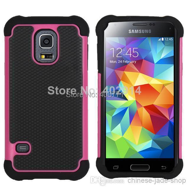 Rugged ballistic Impact Combo PC+silicone Case cover Football For Samsung Galaxy s3 mini i8190 s4 mini i9190 S5 MINI 50PCS/LOT