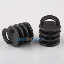 2pcs Small Kayak Marine Boat Scupper Stopper Bungs Drain Holes Plugs Accessory New