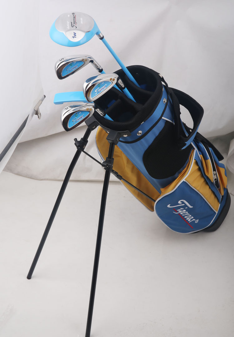 Tigeroar brand. junior LEFT  handed golf clubs half set  with bag. left hand set golf clubs. Top-selling Golf  Brand in China<br><br>Aliexpress