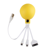 Octopus Micro Usb Cable Data Line Mobile Phone Accessory Charging Cable for iphone Htc Nokia LG Motorola