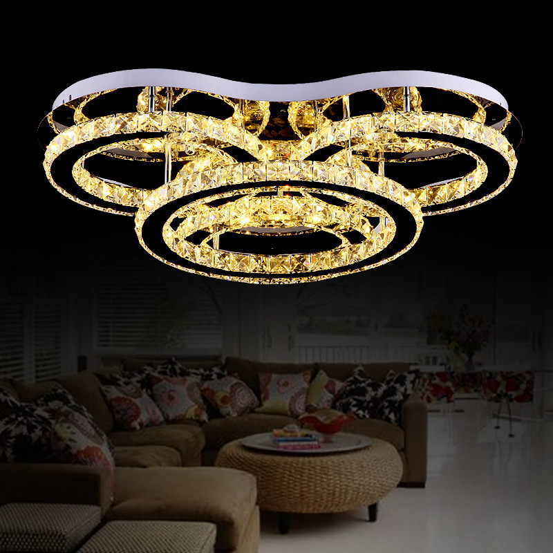 Noble And Luxurious Crystal Ceiling Lamp - High - Quality Remote Control - Type Ceiling Lamp Manufacturers Direct Wholesale Scou(China (Mainland))