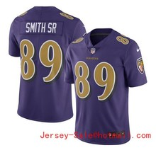 2016 Rush Limited Men's Baltimore Ravens Purple Color 89# Steve Smith Sr Top Quality(China (Mainland))