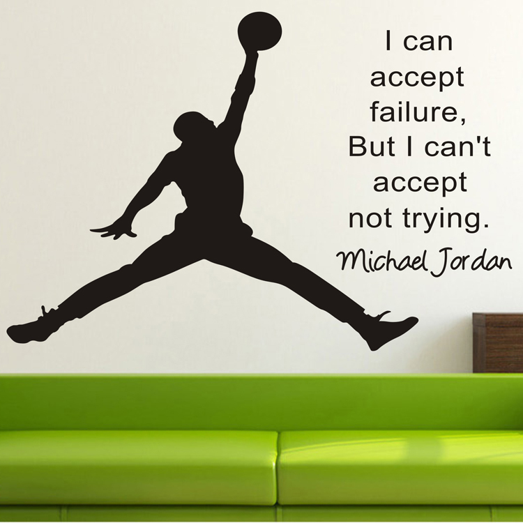 michael jordan wall stickers home decor wall decals for jordan wall decals jordan wall stickers amp wall peels