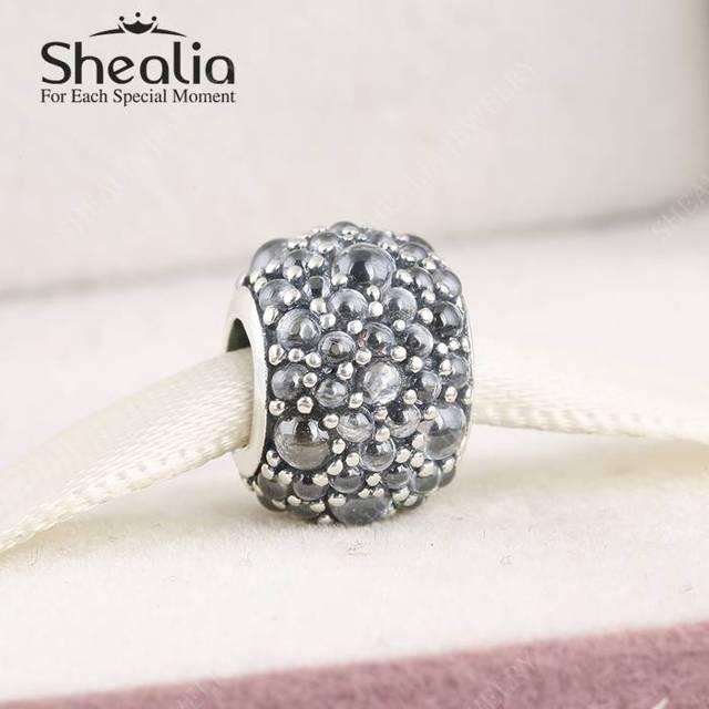 Мерцающие капли ясно CZ вымостите подвески 2016 весенняя коллекция серебро 925 изящные ювелирные Fit бусины браслеты DIY BD358