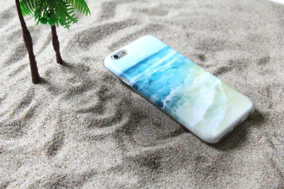 Fashion Ocean TPU Case Cover For iPhone 6 6S 6Plus 6sPlus Case(China (Mainland))