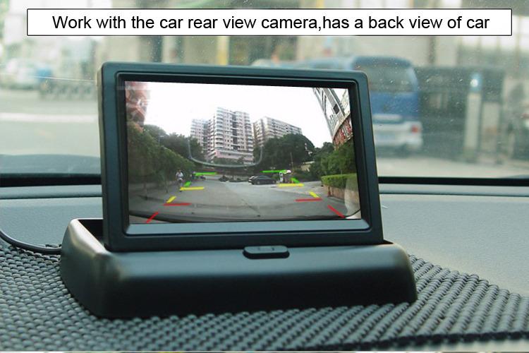 Экран своими руками для камеры заднего вида