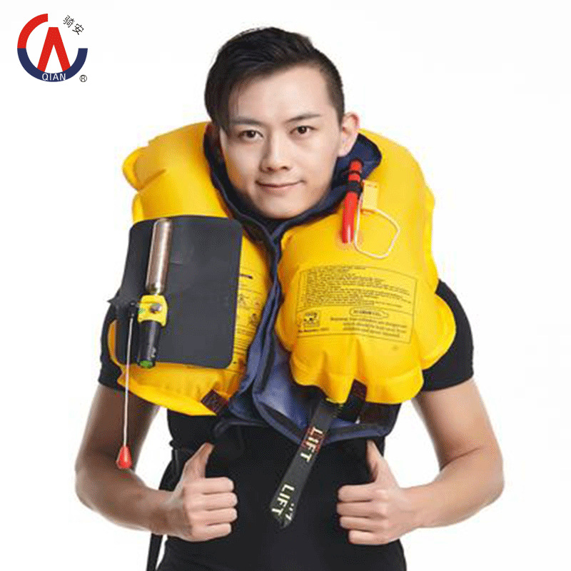 2015 New SOLAS approved Professional Automatic/Manual 150N Inflatable Life Jacket EN471 Certified High Quality(China (Mainland))