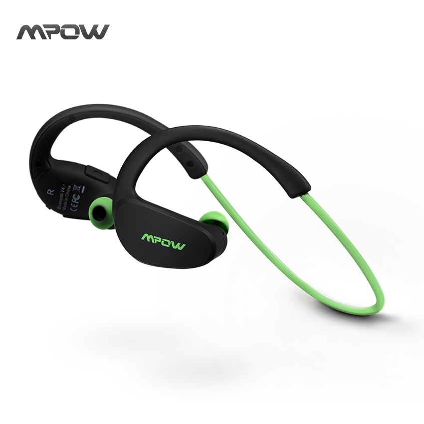 Mpow MBH6 Cheetah 4.1 Bluetooth Headset Headphones Wireless Headphone Microphone AptX Sport Earphone for iPhone Android Phone(China (Mainland))
