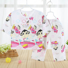 2016 Unisex Baby Pajamas Sets Newborn Summer Cotton Baby Girl's Sleep Sets Toddler Infant Sleepwear Baby Boys Clothes GD-420(China (Mainland))
