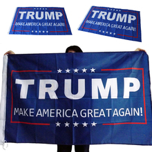 Buy New Donald Trump 150x90cm Flag Make America Great Donald President USA for $2.97 in AliExpress store
