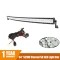 CREE Chips 520W 54 5D Curved LED Light Bar for Car ATV SUV Auto LED Bar