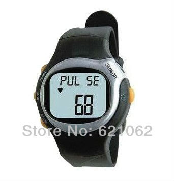 wholesale 6 in 1 Sport Watch with Heart Pulse Rate Monitor Calorie countor Free Shipping Free Shipping