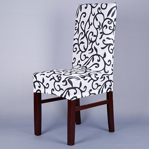 White and black chair covers luxury chair covers elegant for 6 dining room chair covers
