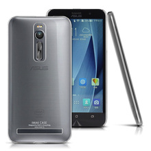 IMAK Crystal Case II Ultra Thin Transparent Wear-resisting PC Hard Case Cover For Asus Zenfone 2 ZE551ML ZE550ML 5.5'' PhoneBag (China (Mainland))