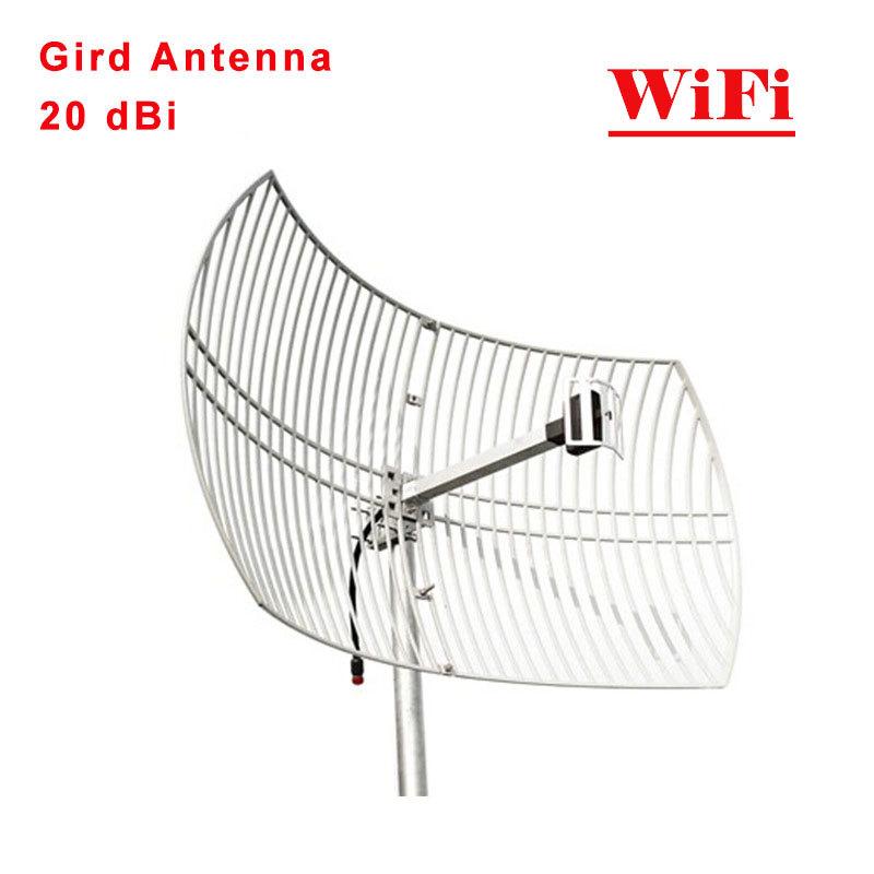 WiFi Grid Antenna 20dbi Outdoor Antenna for 2.4GHz 24dBi WIFI Square Grid Parabolic Antenna Mesh Antenna Outdoor Use(China (Mainland))