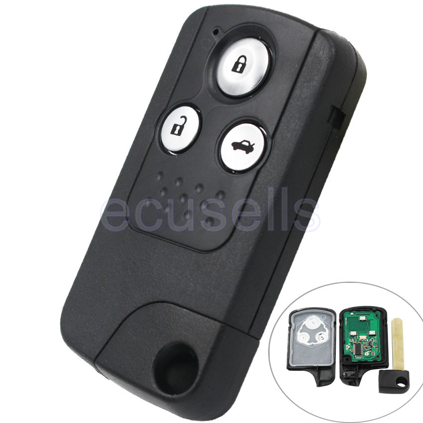 Intelligent Smart Remote Key 3 Button 433MHZ With ID46 Chip For Honda CRV(China (Mainland))