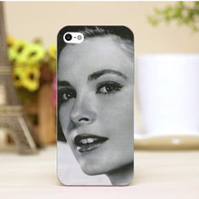pz0006-2-2-12 Grace Kelly Design cellphone cases For iphone 4 5 5c 5s 6 6plus Shell Hard Lucency Skin Shell Case Cover