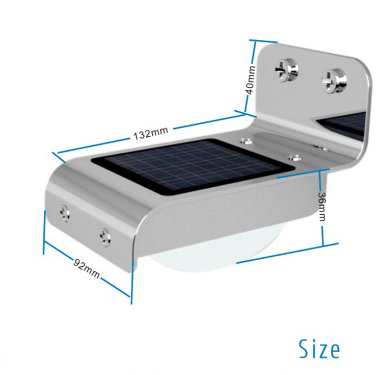 iluminacao jardim led solar16 LED Solar lâmpada de jardim ao ar