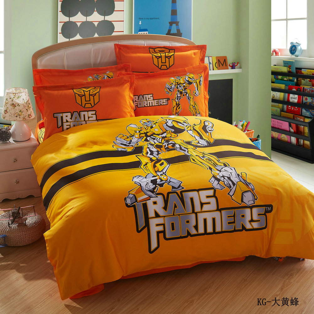 Transformers Full Size Bed Set