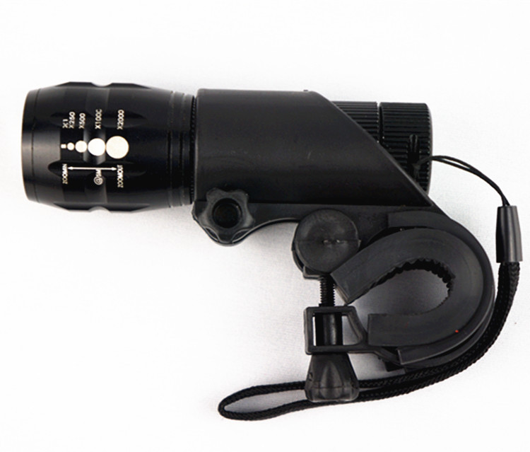 2015 sales CREE Q5 light zoom LED flashlight/mini aluminum alloy bicycle headlights/bike lights - DARREN OUTDOOR store