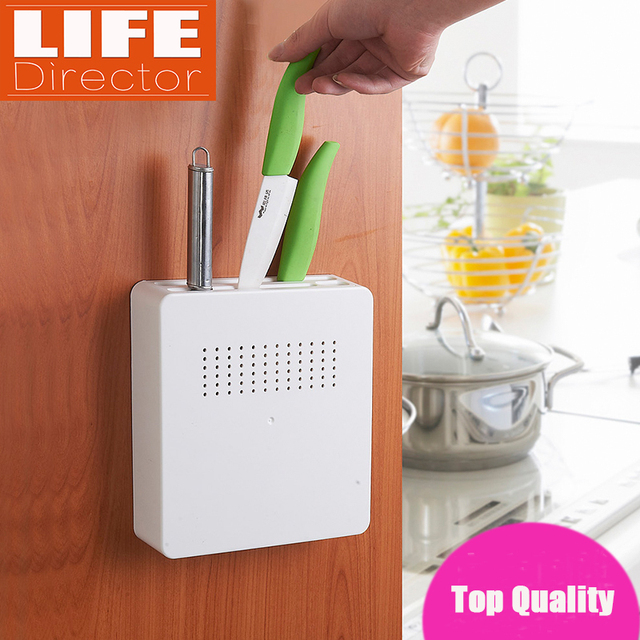 top quality kitchen knife holder creative hidden plastic