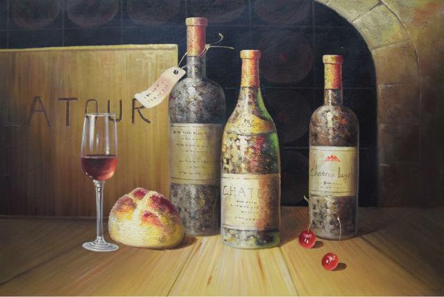 Comprar bodeg n pintado a mano de estilo - Pintura al aceite ...