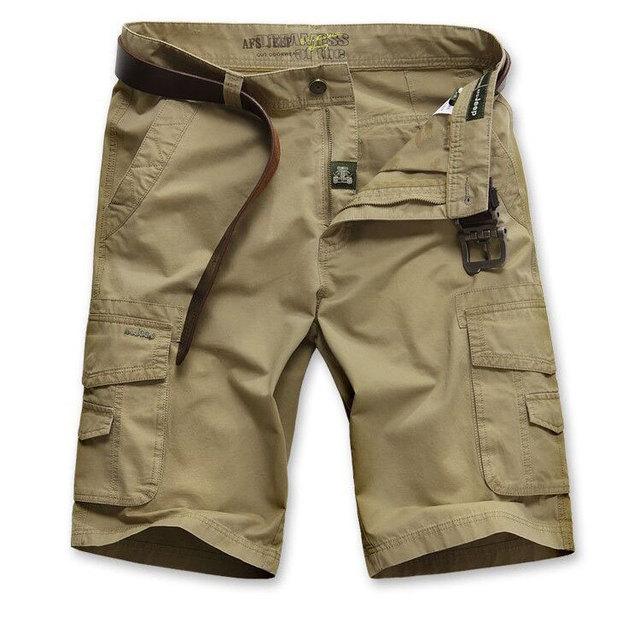 Бренд AFS JEEP 30 - 44 лето мужчины в армейский зеленый брюки-карго свободного покроя ...
